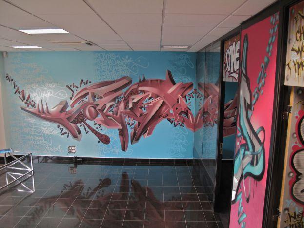deco murale bureau entreprise