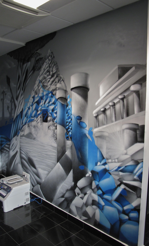 16 decograffik deco graff bureaux entreprise deco design mural hall d 39 accueil deco salle de. Black Bedroom Furniture Sets. Home Design Ideas