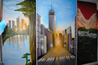 deco murale graff paris