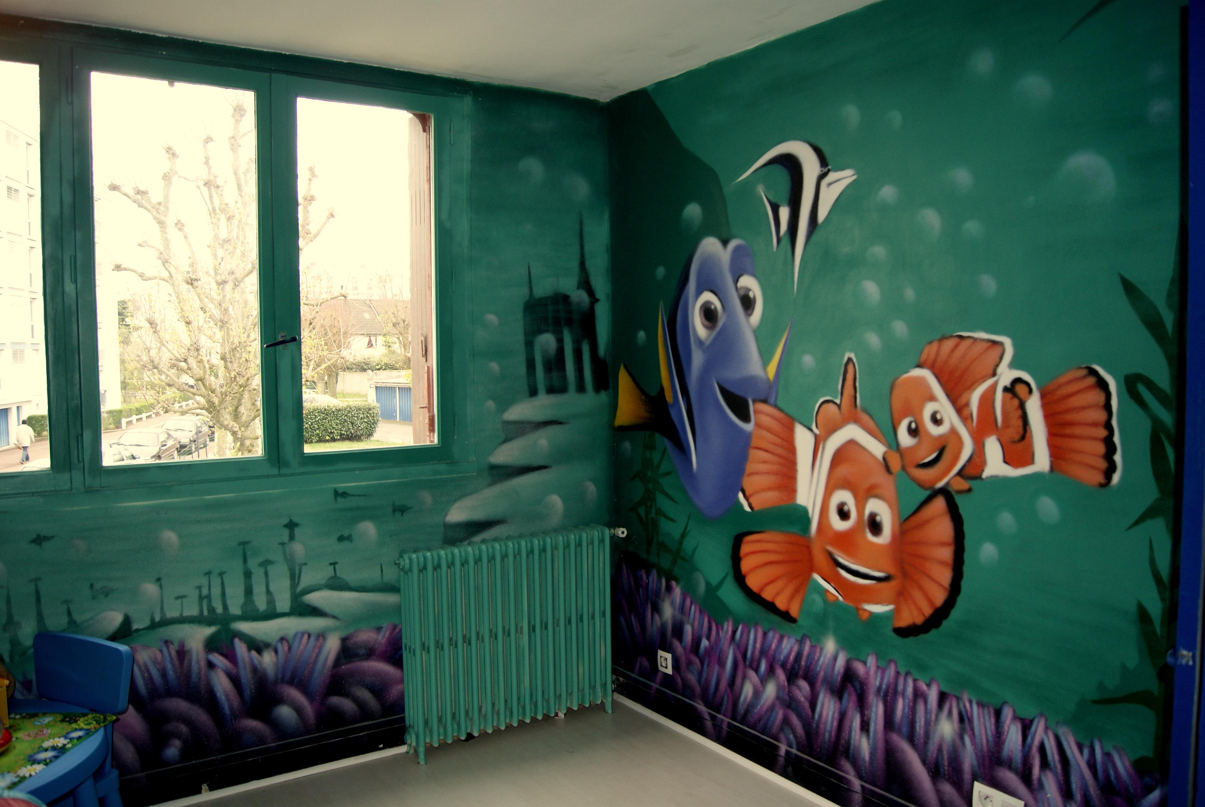 Photos decograffik deco graff bureaux entreprise deco design mural hall d - Prix decorateur interieur ...