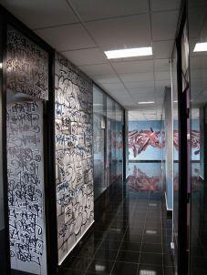 deco couloir de bureau original