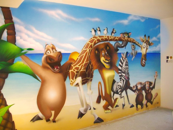 decoration murale walt disney