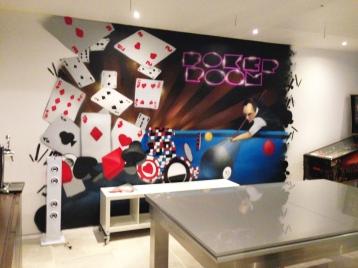 decor poker room