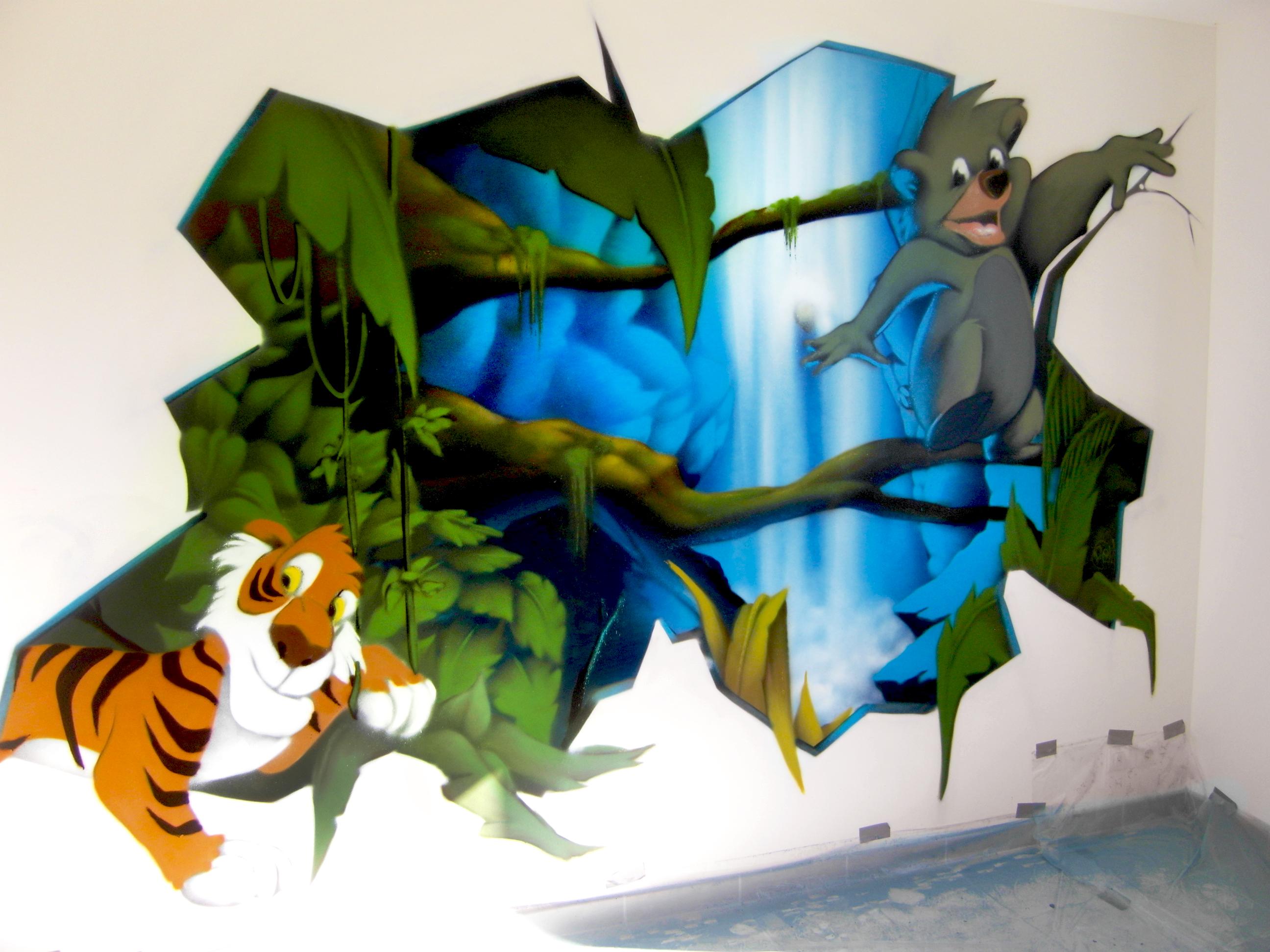 Samsung digital camera decograffik deco graff bureaux for Peinture murale enfant