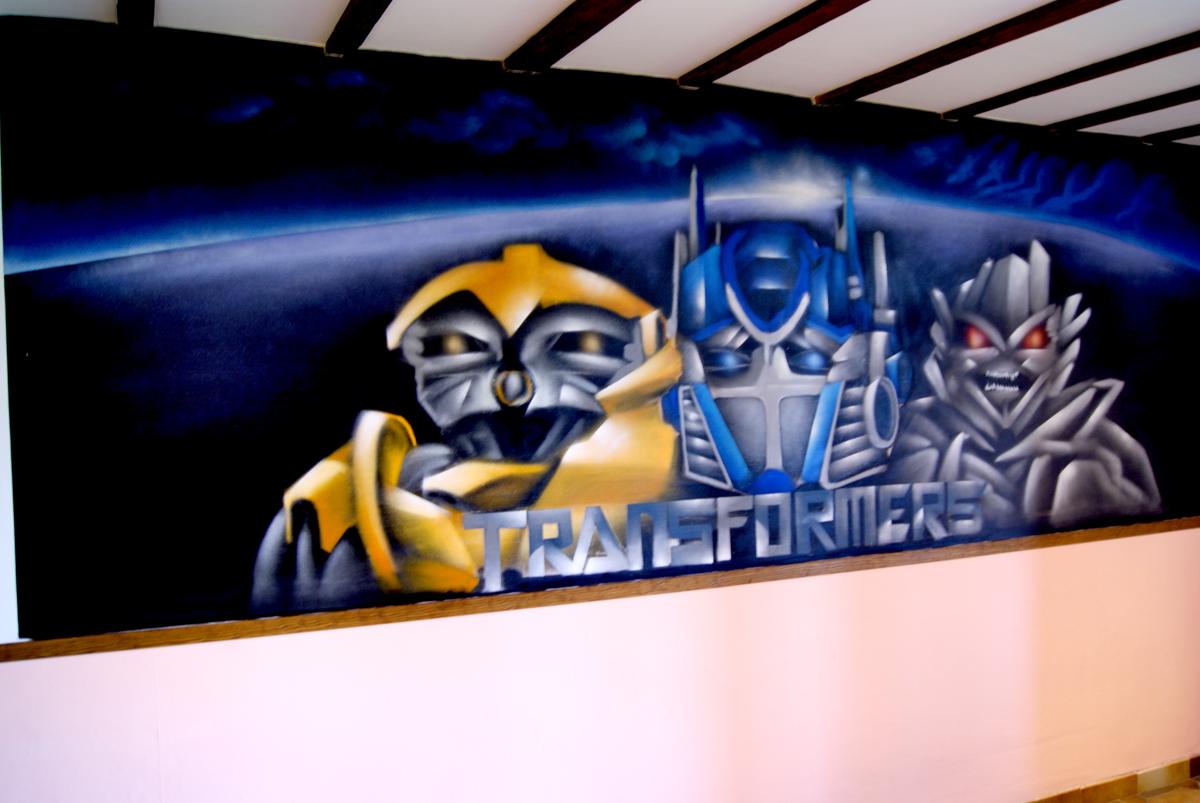 Graff Transformers – DECOGRAFFIK -deco graff bureaux entreprise ...