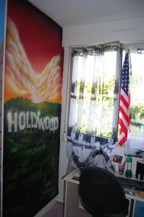 detail du triptik theme USA