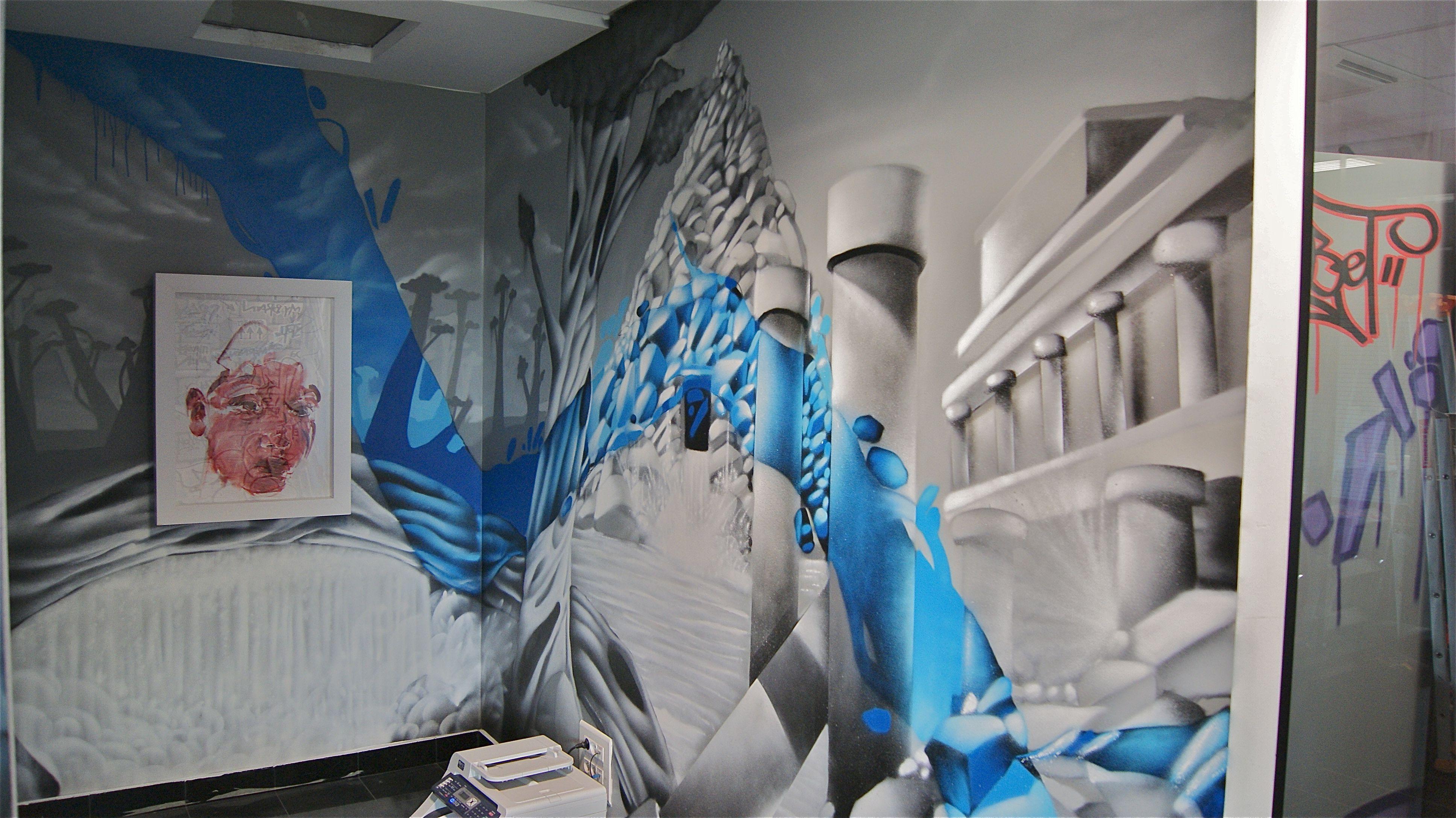 the storage philippe pasqua decograffik deco graff fresque murale deco chambre. Black Bedroom Furniture Sets. Home Design Ideas