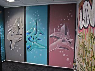 fresque murale entreprise