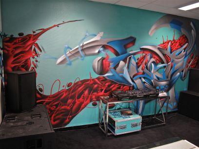 decoration murale entreprise
