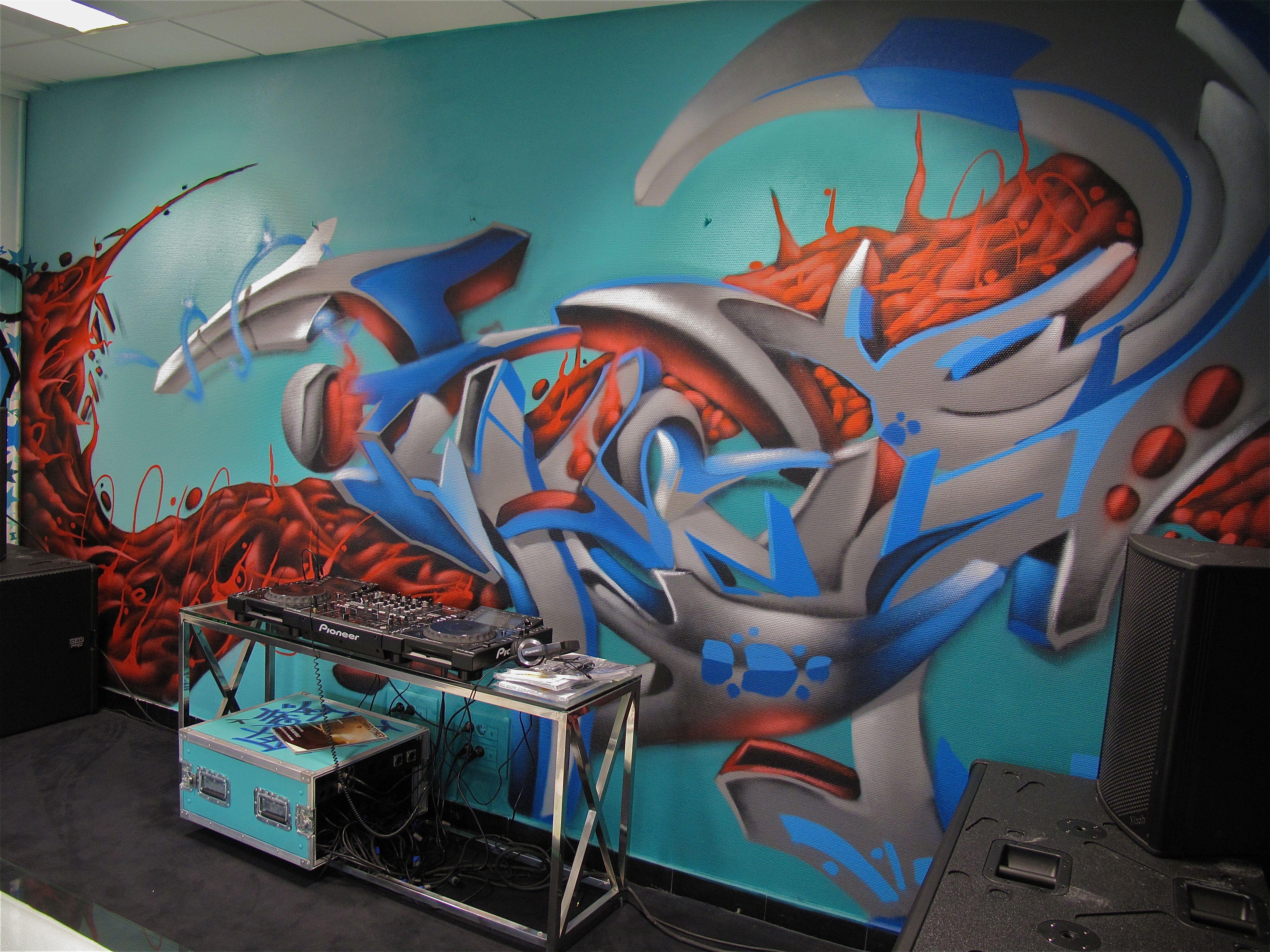 The storage philippe pasqua decograffik deco graff for Decoration murale d interieur