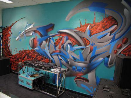 deco graffeur murale