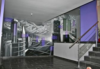 Decor mural Ville