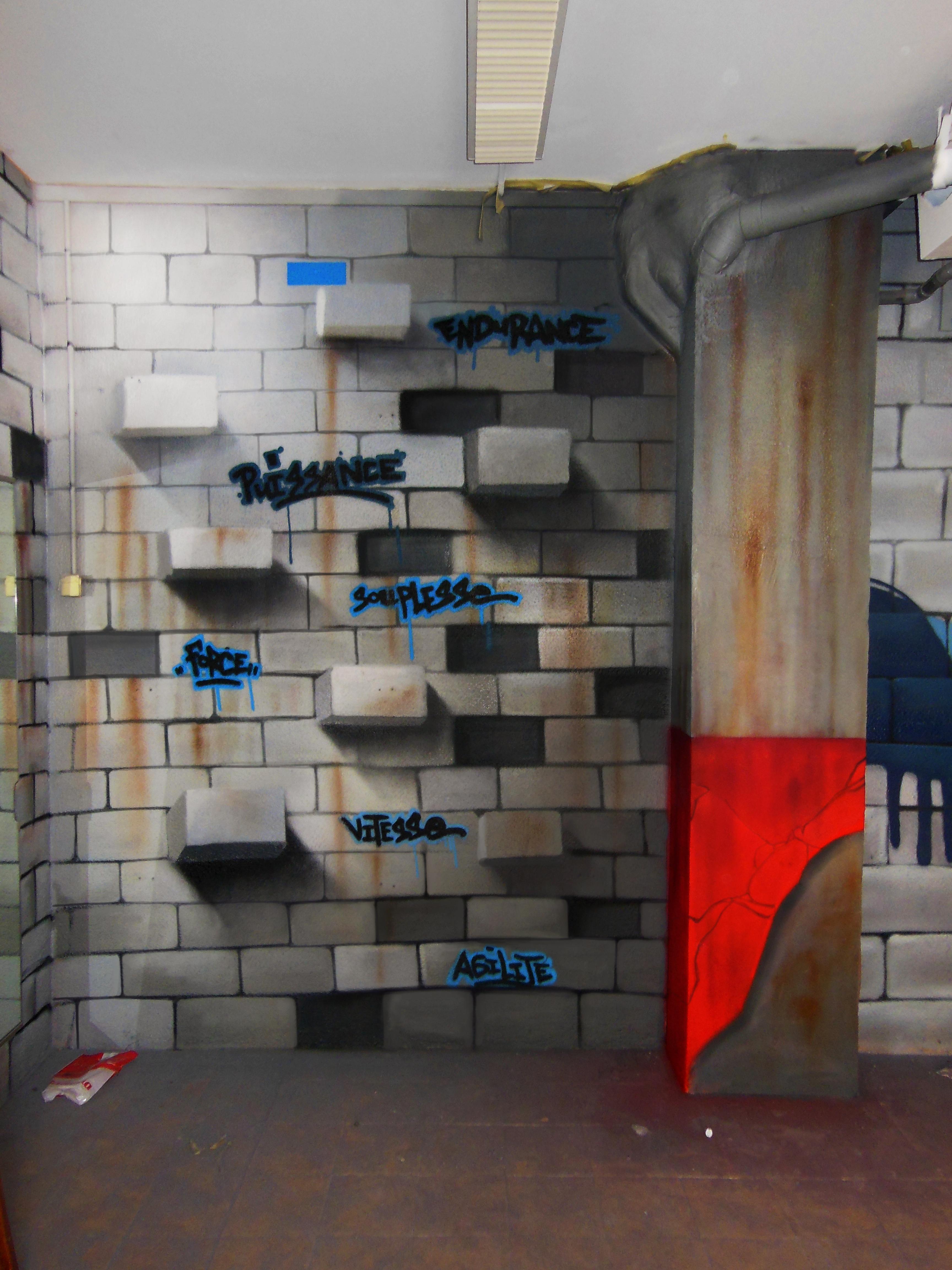 d co d int rieur decograffik deco graff bureaux entreprise deco design mural hall d 39 accueil. Black Bedroom Furniture Sets. Home Design Ideas
