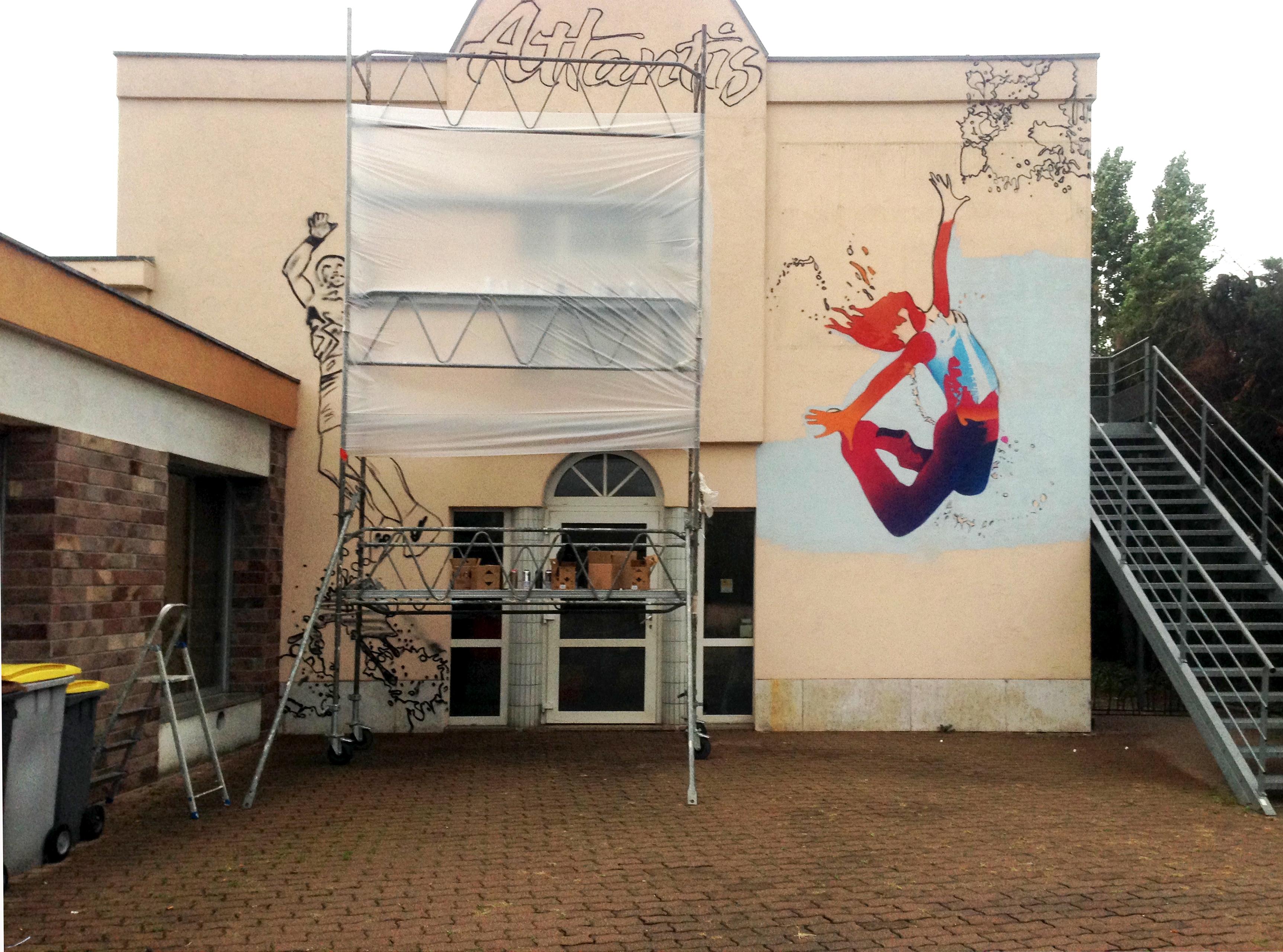 img 2746 decograffik deco graff bureaux entreprise deco design mural hall d 39 accueil deco. Black Bedroom Furniture Sets. Home Design Ideas