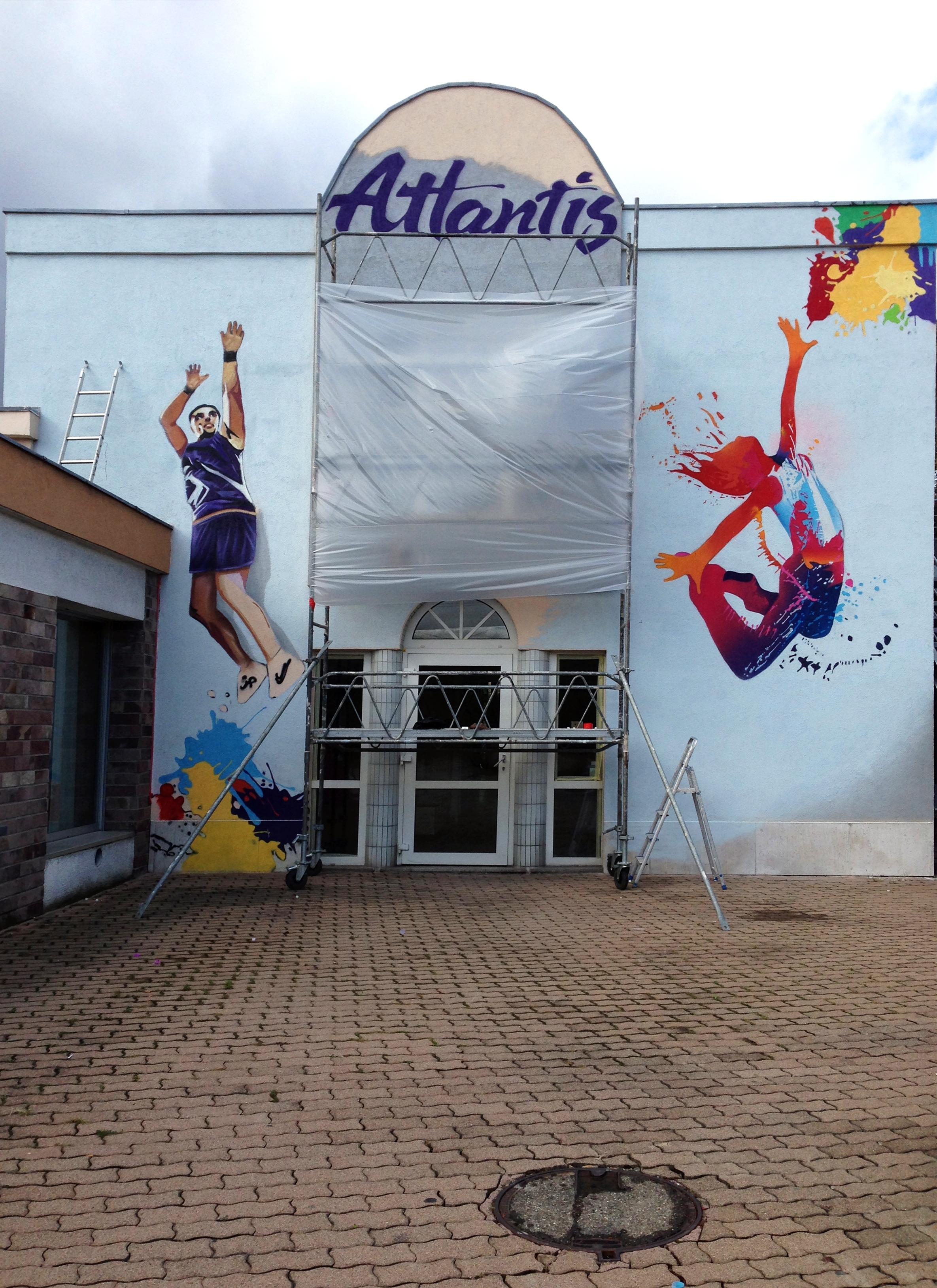 D co murs ext rieur decograffik deco graff bureaux for Sport de chambre definition
