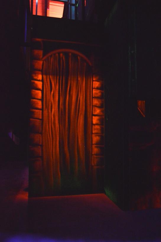 peinture fluorescente laser game
