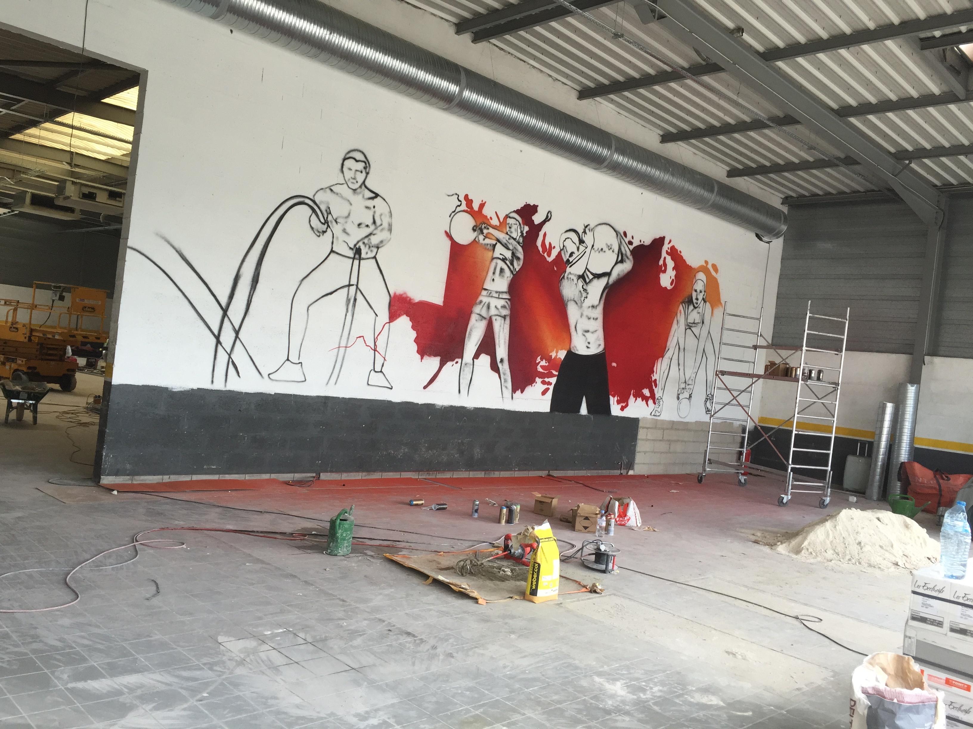 img 7378 decograffik deco graff bureaux entreprise deco design mural hall d 39 accueil deco. Black Bedroom Furniture Sets. Home Design Ideas