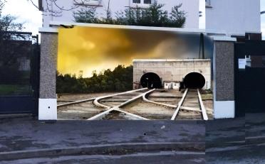 MAQUETTE voie ferrée
