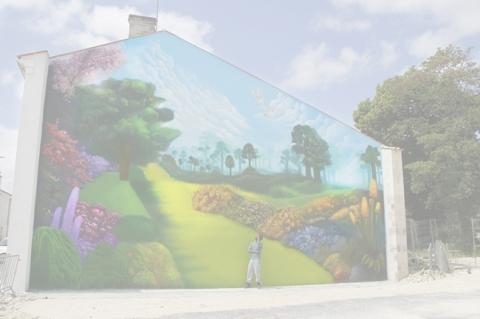 Fresque Facade Angouleme(matha)