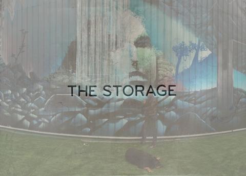 Fresque 70MX 7 Gallery d'art The Storage PhilippePasqua
