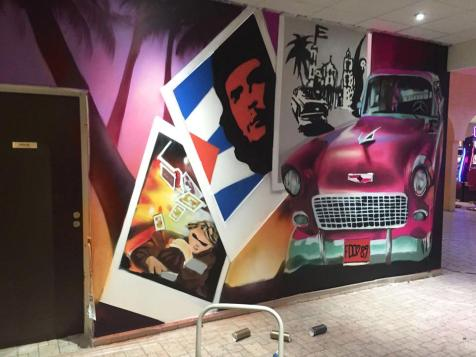 deco graff casino fresque murale