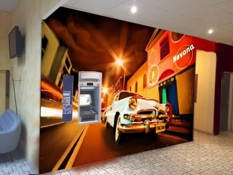 deco graff casino fresque murale maquette
