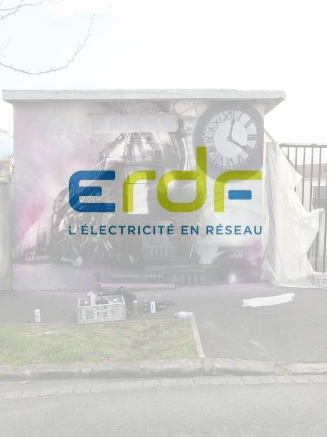 ERDF transformateur Longjumeau